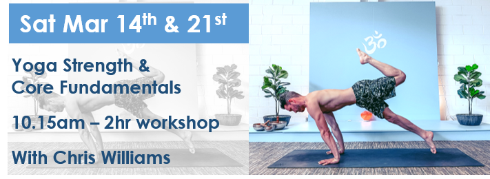 Yoga strength and core workshop